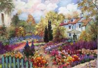 Little House - original oil on canvas