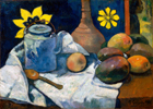 Still Life with Teapot and Fruits (1896)