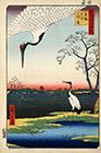 Minowa, Kanasugi, Mikawashima, 1857