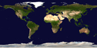 Large Scale Detailed Satellite Map Of The World