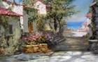 Village Neer The Sea
