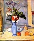 Stilleben mit Blauer Vase