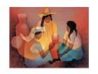 Les Peruviennes A La Poterie, 1990